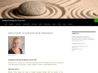 Sandplay Training with Barbara Turner, PhD