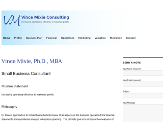 Vince Mixie Consulting