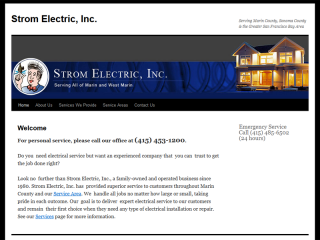 Strom Electric, Inc.