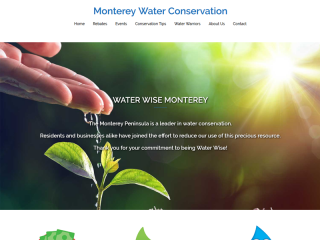 Monterey Water Conservation