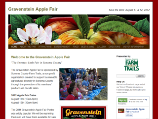 Gravenstein Apple Fair
