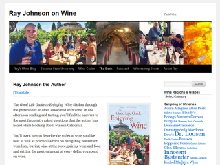 Ray Johnson on Wine