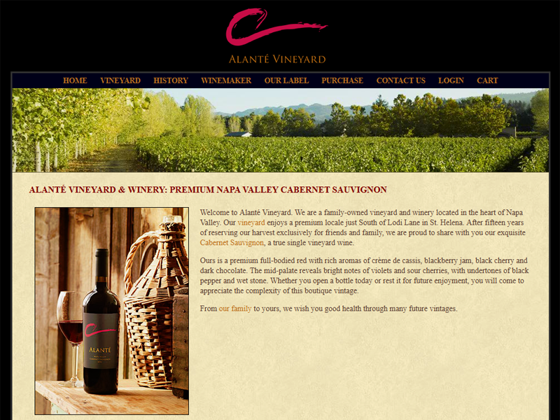A family-owned vineyard and winery located in the heart of Napa Valley.