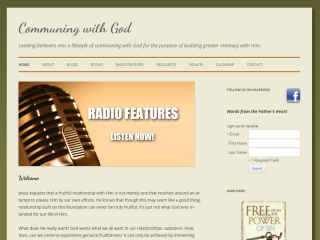 Communing with God Ministry