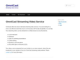 OmniCast™ Leaning Center
