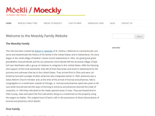 The Moeckly Family